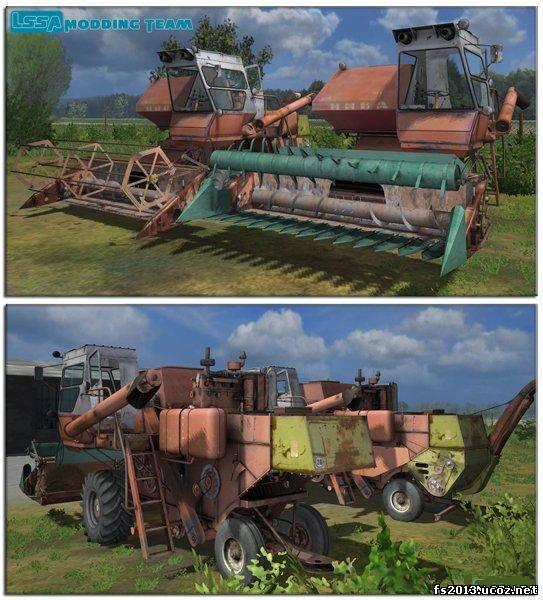 Комбайны Для Farming Simulator 2013 Русские