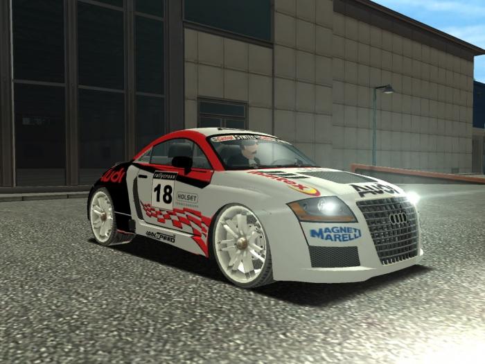Легковые автомобили, Audi TT sports car