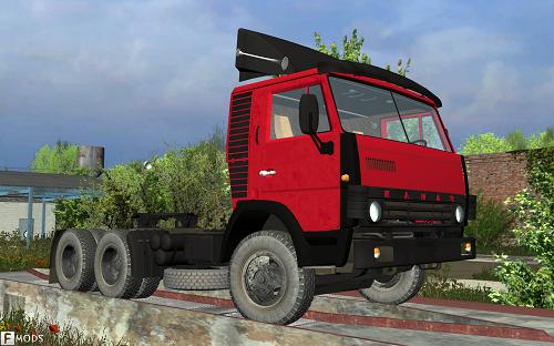 Машины-тягачи, КамАЗ-54112