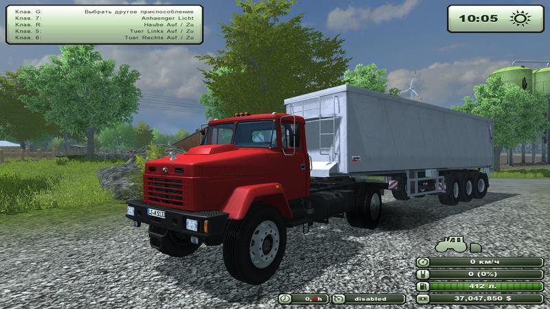 Машины-тягачи, KRAZ 5133 V 1.0