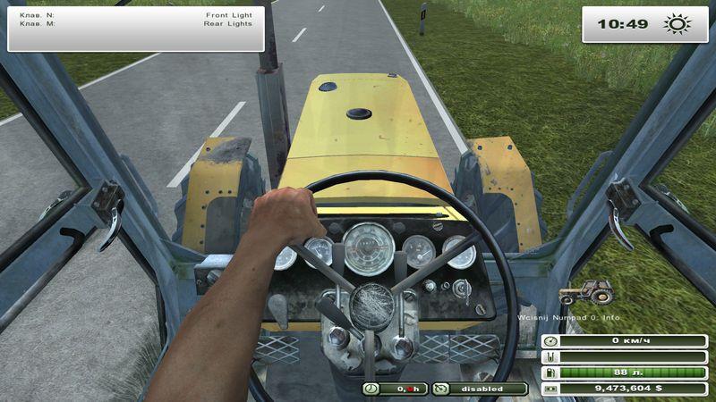 Скачать мод руки на руле для еуро труцк симулатор - 84bb