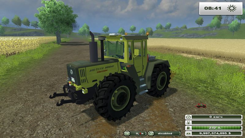 CLAAS XERION 5000 V 2.5 (MOREREALISTIC)