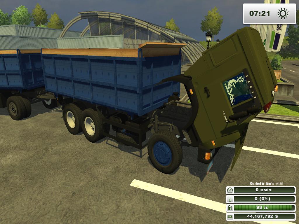 Мод На Камаз С Прицепом Farming Simulator 2013